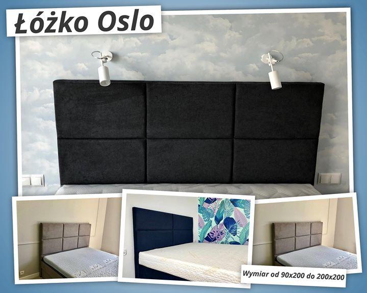 ▪ Łóżko Oslo ▪Możemy je wykonać w rozmiarze od 90×200 do 200×200 cm