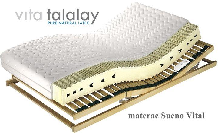 🌿 Materac Sueno Vital 🌿 – prawdopodobnie najwygodniejszy materac – sami na nim śpimy – wykonany z 100% naturalnego lateksu Vita Talalay.