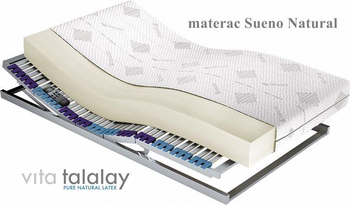 🍀 Materac Sueno Natural 🍀 – wykonany z 100% naturalnego lateksu Vita Talalay.