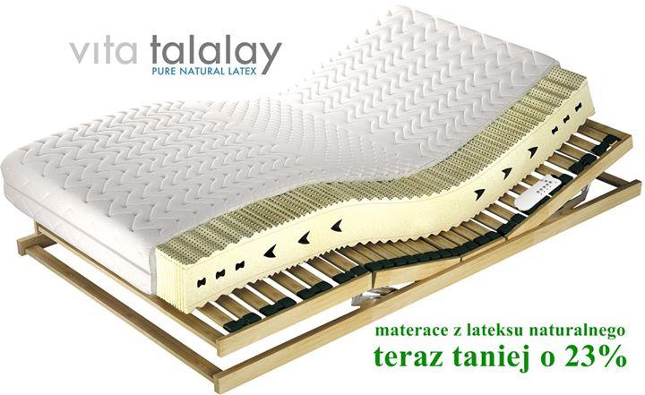 Najzdrowszy i najbardziej komfortowy materac❓Podpowiem Ci, to taki, który wyprodukowano z lateksu naturalnego Vita Talalay.