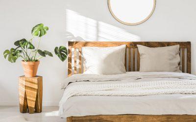 Łóżka drewniane – naturalne piękno w sypialni